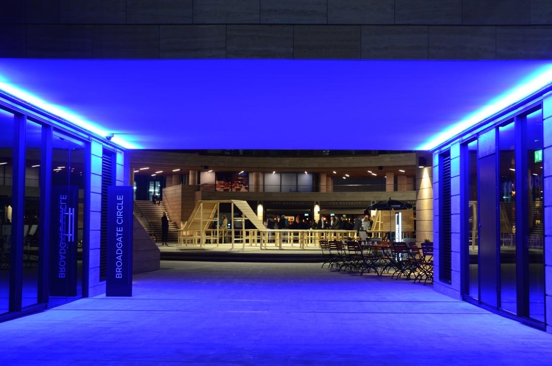 Broadgate Circle el Nuevo hub gastronómico de la City de Londres